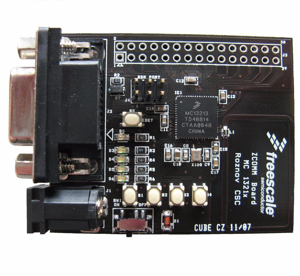 Remote Control Of High Brightness Leds Pdf Adf7242 Low Power Transceiver Circuit Design Chapter 3 Zcomm Board Description Overview The Main Tasks