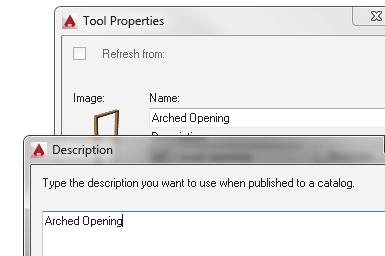 Highlight the copied tool. Right click and select Properties.