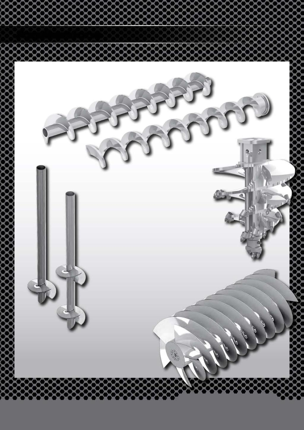 Applications Conveyor Spirals Foundation, Piling & Digging Augers Screw Piles