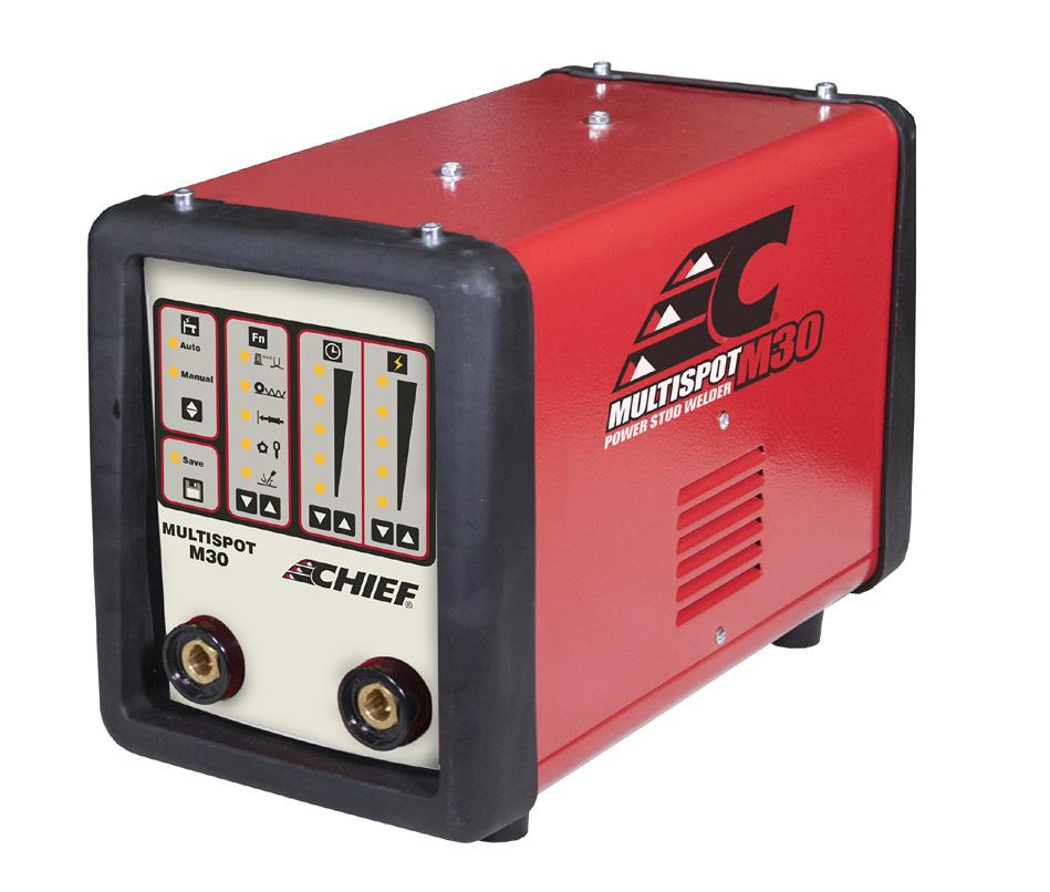 M30 SPOT WELDER INSTRUCTION MANUAL 230V 1PH. We have the right to improve and update the machine.