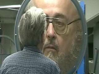 A spherical concave mirror can produce a real image.