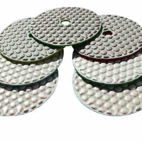 DPPD04ULTB050G1P PPD170V 4 Grit 50 Pad 841674103006 Diamond Polishing Pad Dry Series Standard A DRY For Concrete Polishing Concrete Countertop Polishing, Concrete Edge
