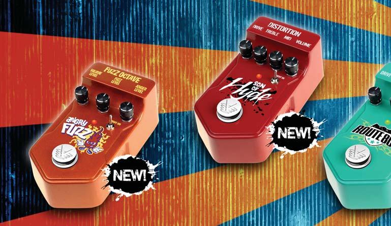 ANGRY FUZZ A brand new effect unlike any fuzz pedal you ve ever heard. Blend in an octave up with the Anger Level knob and get crazy low octave overtones to boot!