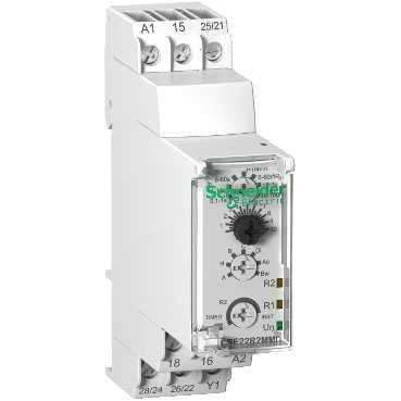 Product data sheet Characteristics RE22R2MMU Multifunction Timer Relay - 24VDC/24.