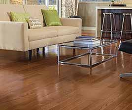 HIGH GLOSS Appalachian oak flooring with a high gloss