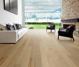 edge - TrueMark GlazeTek finish MODERNO HARDWOOD COLLECTION 6 Wide