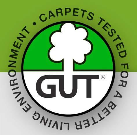 QUALITY STANDARDS GUT The continuous aim of Gemeinschaft Umweltfreundlicher Teppichboden (GUT) is to improve all environmental and consumer protection aspects throughout the life cycle of a textile