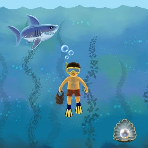 Diver Become the Pearlfinder and catch as many pearls as possible.