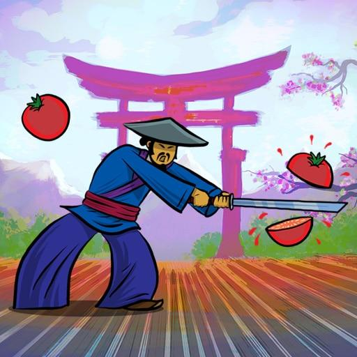 Samurai Help a Samurai to slash as many tomatoes as possible.