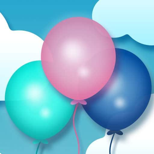 Bursting ballons Burn off your energy and jump on the flying away balloons. There's too much air in them help them to burst! Happy board Do not let the sad faces end the game.