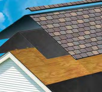 Shingles and Accessories High-quality shingles are covered by one of the best warranties in the business.