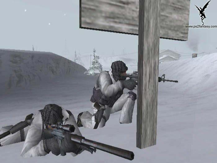 Violence vs. Isolation Screen shot from SOCOM: US Navy Seals.