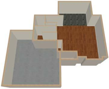 Adding Floors To create a Doll House View 1. In floor plan view, select 3D> Create Camera View> Doll House View. A Doll House View displays the floor without a ceiling or roof. 2.