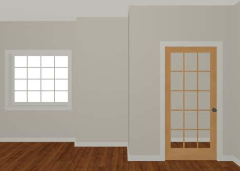 Placing Doors and Windows 4. On the LITES panel, change both the Lites Across and Lites Vertical to 4. 5. Click OK to close the Window Specification dialog.