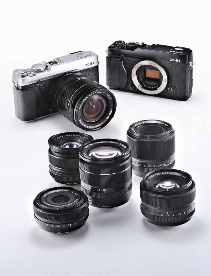 Types of interchangeable lenses Broadening the range of photographic expression with more interchangeable lenses Single focal length lens Single focal length lenses present fewer design challenges,