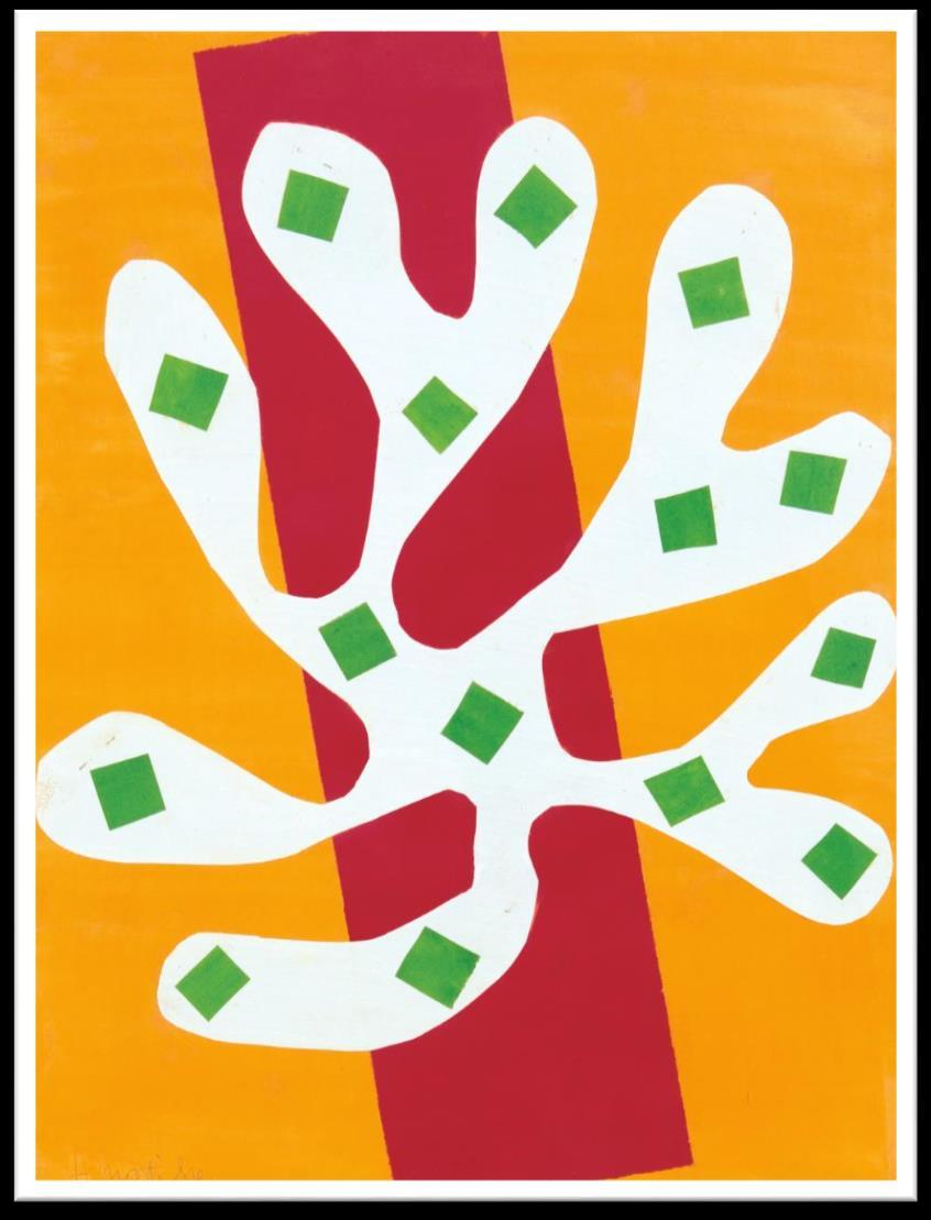 negatives. Matisse used both pieces in his work.
