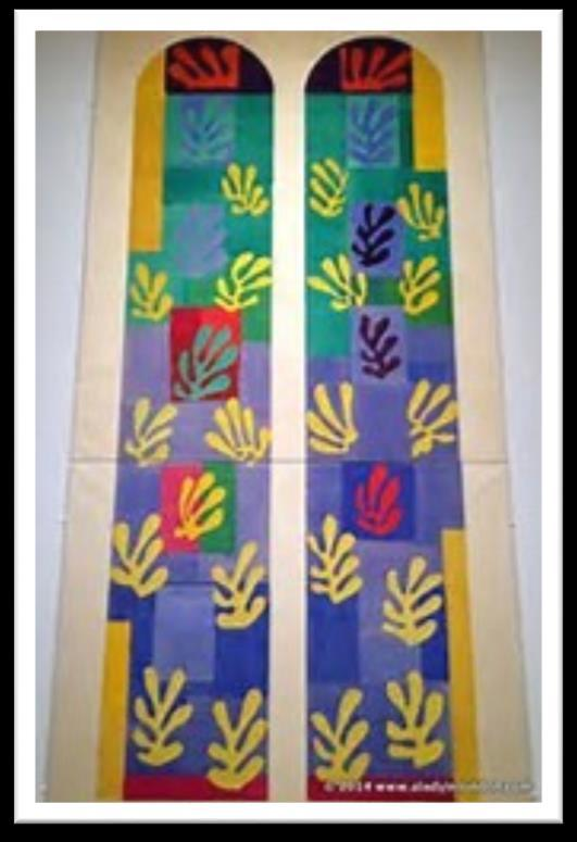 Matisse s final project was the full design of The Chapel of the Dominicans in