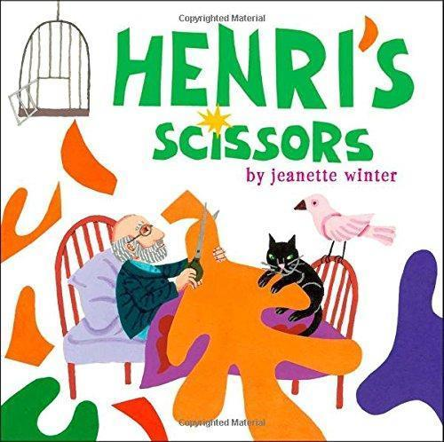 Activity: First Enjoy reading this short book to the kids to make Matisse come to life! **Book and templates on the Art Appreciation shelves in the media center workroom.