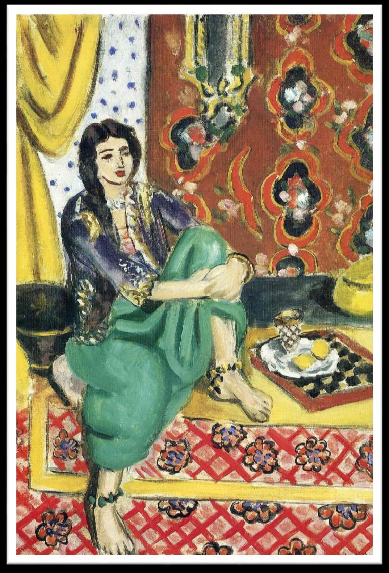 Odalisque in Red Trousers, 1951 Sorrow of the Kings, 1952
