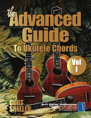 5 x 11 coil binding - 54 pages) The Advanced Guide to Blues Chord Progressions for Ukulele from A to Z Features 26 examples of blues progressions with various chord substitutions for C and G tunings.