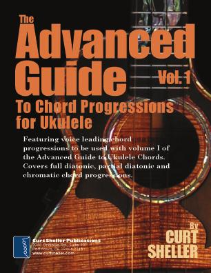 (8 x 11 coil binding - 80 pages) The Advanced Guide to Ukulele Chords - Vol I If your goal is to expand your chord vocabulary, The Advanced Guide to Ukelele Chords vol 1 is your answer.