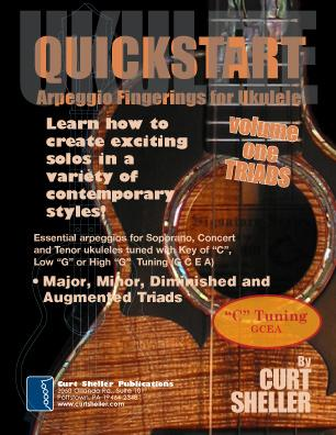QuickStart - Scale Fingerings for Ukulele - Vol I - C Tuning QuickStart - Scale Fingerings for Ukulele - Vol I - D Tuning For Soprano, Concert and Tenor ukuleles. Six essential scales for ukulele.