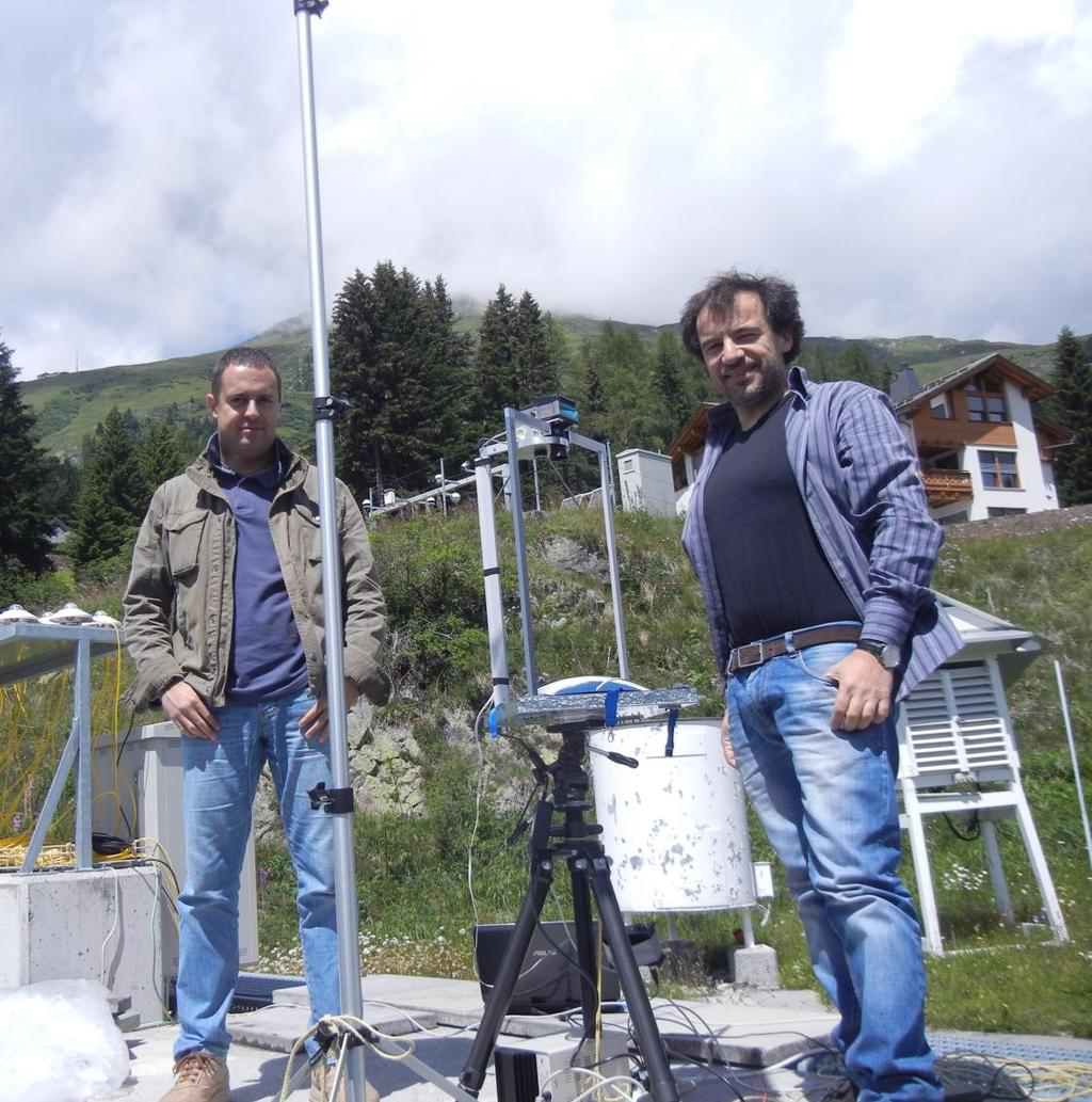 Sky measurements in Davos