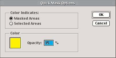 Quick Mask (continued) Important! Quick Masks must be saved in order to be reused.