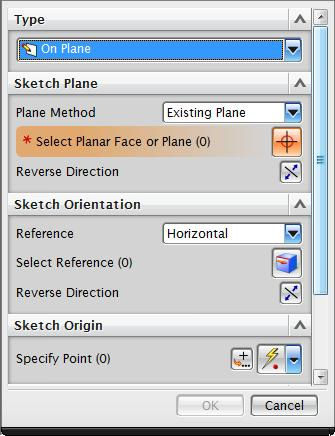 Drawing in NX NX, like most modern PLM tools, is feature-based. That means you build up a component from a set of features that are added in sequence.