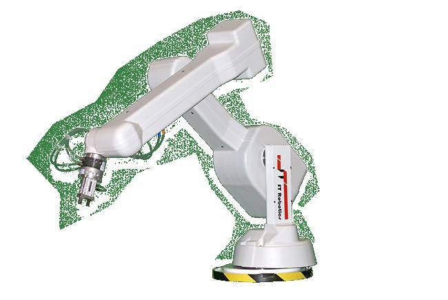 Low cost bench-top 5/6 axis general purpose articulated robot arm Description R17 (Deucaleon) is a low cost entry to robotics, fast, accurate and reliable and easy to program.