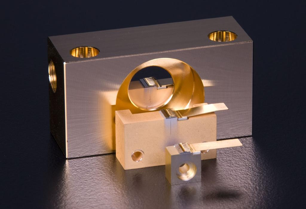 The Tapered Laser Concept Diode lasers with tapered design combine a nearly diffraction limited beam quality with output powers which have previously only been available for diode lasers with