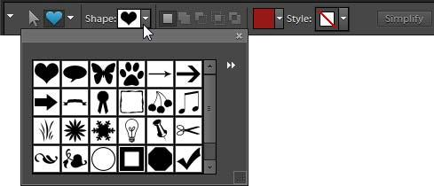 To add custom shapes: 1. Open the Editor in the Standard Edit workspace. 2. In the toolbox, select the Custom Shape tool.