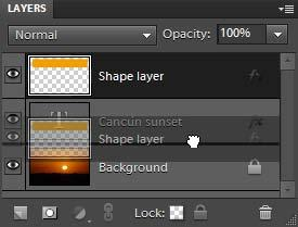 Sometimes you will want a layer to be partially transparent. You do this by adjusting the layer s opacity.