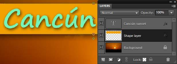 You can hide and show a layer by clicking the eye icon next to the layer in the Layers panel. When you achieve the results you want, you can merge two layers, making them a single layer.