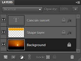 You can fully or partially lock layers to protect their contents. When a layer is locked, a lock icon appears to the right of the layer name, and the layer cannot be deleted.
