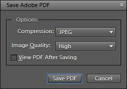 PDFs display all types of graphics accurately and can be opened on any operating system. To save as a Photoshop PDF: 1. Choose File > Save As. The Save As dialog box appears (Figure 1). 2.