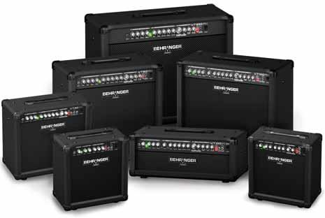 VIRTUBE Two-Channel Guitar Amplifiers with hi-quality FX*, VTC Tube Modeling and Original BUGERA Speakers Powerful 2-channel guitar amplifiers with authentic VTC Tube Modeling: VT15FX 15-Watts,