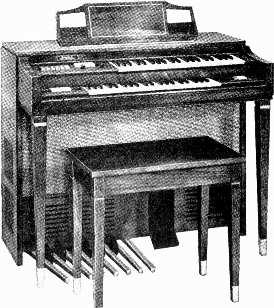 World's Best Buy In Electronic Organs! GD-983 $849 including bench $125 dn., as low as $27 mo. Full Features... No Extras To Buy.