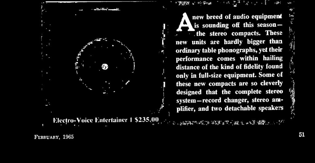 stereo system- record changer, stereo