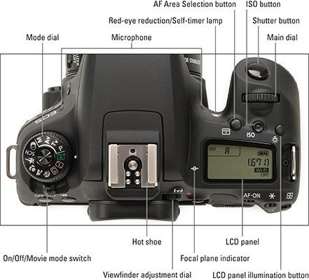 Page 5 of 10 PHOTOGRAPHY CAMERAS CANON CAMERA CANON EOS 77D FOR DUMMIES CHEAT SHEET CANON EOS 77D FOR DUMMIES CHEAT SHEET From Canon EOS 77D For Dummies By Julie Adair King Your Canon EOS 77D has so