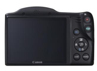 25 fps); actual frame rate is 25 fps 2 Approximately 4-megapixel 3 Records at 1280 x 720 pixels in MOV format; actual frame rate is 25 fps The Canon s new PowerShot SX400 IS Digital
