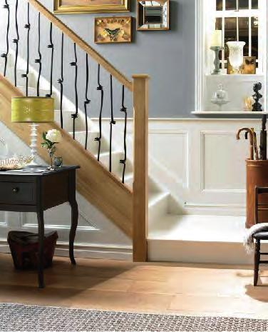 S T A I R B A L U S T R A D E E L E M E N T S P R E - D R I L L E D R A I L S Y S T E M The following instructions are for installing Richard Burbidge Elements pre-drilled rail Stair Balustrading.