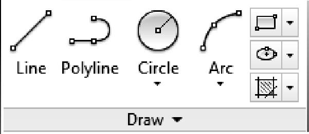 Crash Course Introduction (the Basics) 24. End the Line command (right-click and select Enter). Because the visible portion of the drawing area is only 3-2 tall (Figure 2-1.