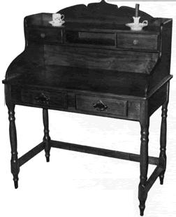 Project 13586EZ: Writing Desk This writing desk will make a handsome addition to just about any room in the house.