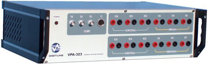 VPA 323 32 channels power, vibration and