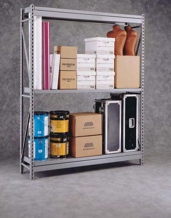 Wide Span Shelving Penco Wide Span is the standard of the industry for shelving designed to contain wide, bulky loads.