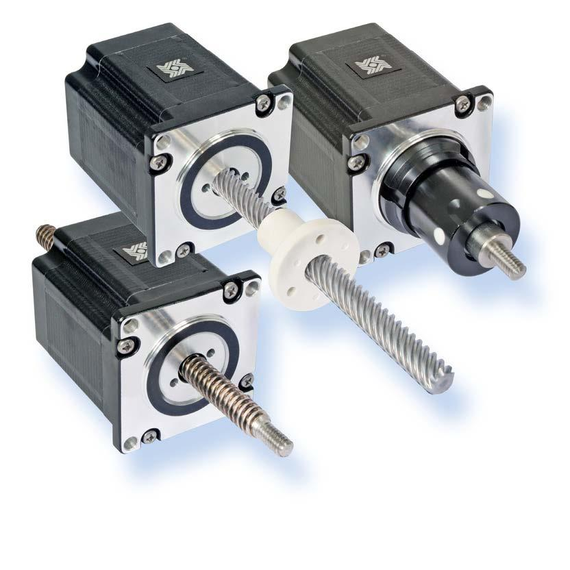 HAYD: 0 756 7 57000 Series: Double Stack Stepper Motor Linear Actuator Haydon 57000 Series Double Stack hybrid linear actuators deliver greater performance in a compact size.