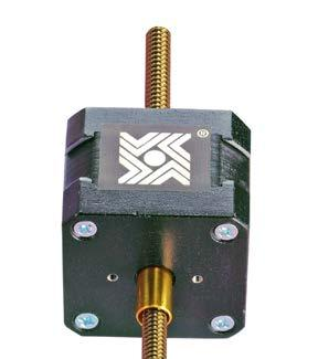 HAYD: 0 756 7 Hybrid Stepper Motor Options: Optional Assemblies Home Position Switch for Hybrids A miniature electronic home position switch capable of monitoring the home positions of linear