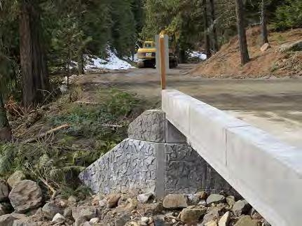 plant-cast USFS curbs Finished