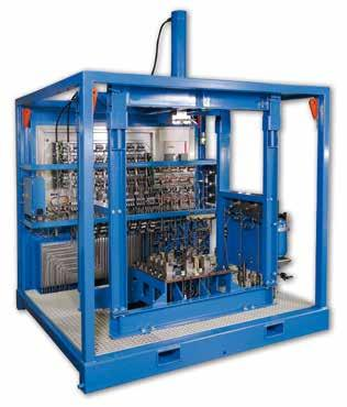 Our solutions for testing systems: HPU (Hydraulic Power Unit)